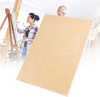 Rodipu Planche à Dessin Lisse, matériel d'art en Bois de peuplier, Durable pour la Peinture Portable d'étudiant(8K Hollow ...
