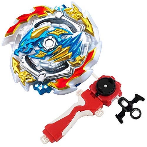 Bey Burst Evolution Turbo Battling Tops Blade God Bey with Lr Launcher Grip Spryzen Starter Set B-133 Booster ACE Dragon.st.Ch Attack Gyro Bay Battle Gaming Tops Novelty Spinning Toy Gift for Boys