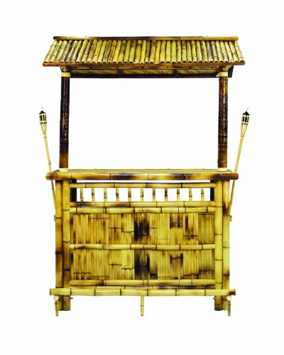 RAM Gameroom Products 60-Inch Bamboo Tiki Bar