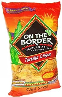 On The Border Cafe Style Tortilla Chips (Pack of 6)