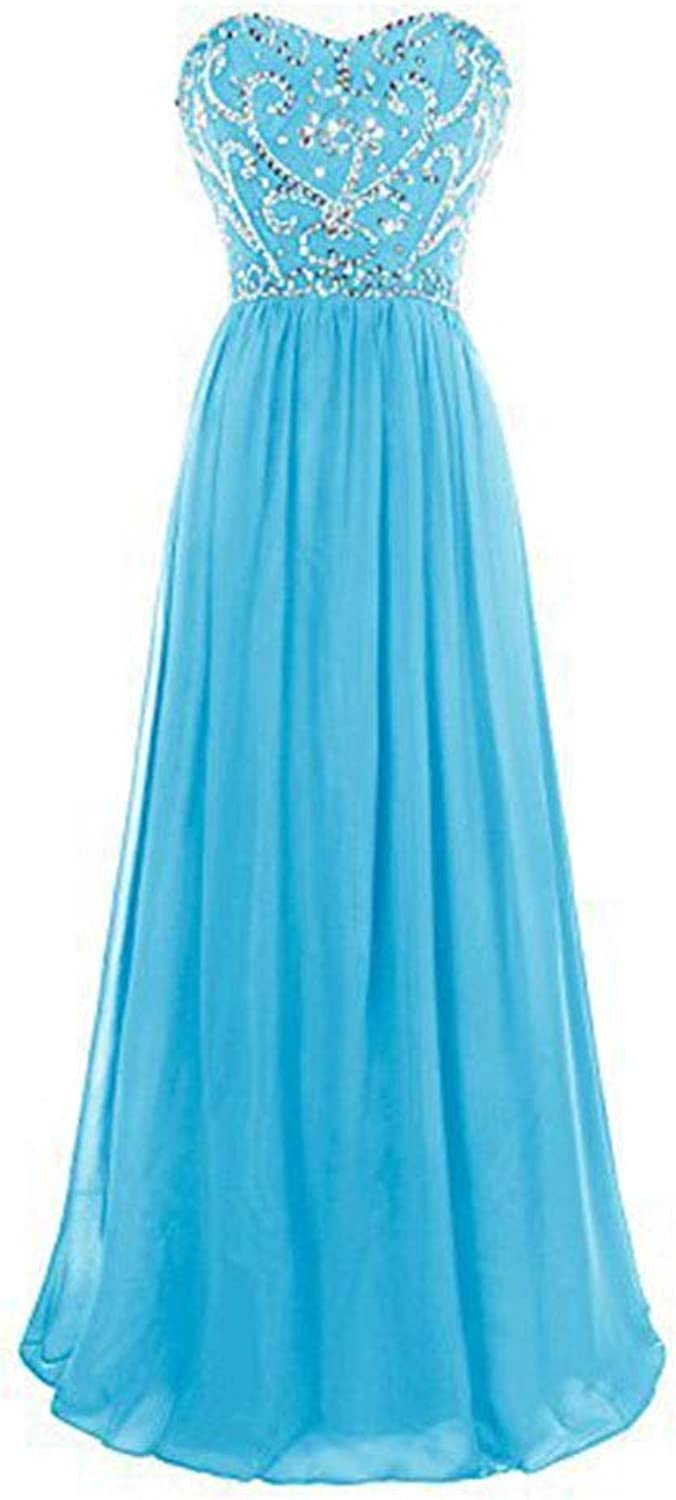 CEFULTY Womens Formal Off The Shoulder Party Maix Evening Dress Cocktail Dress (color   bluee, Size   US14)