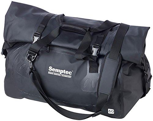 Semptec Urban Survival Technology Sporttasche LKW Plane: wasserdichte Profi-Outdoor- und Reisetasche aus LKW-Plane, 60 Liter (Motorrad-Reisetasche wasserdicht)
