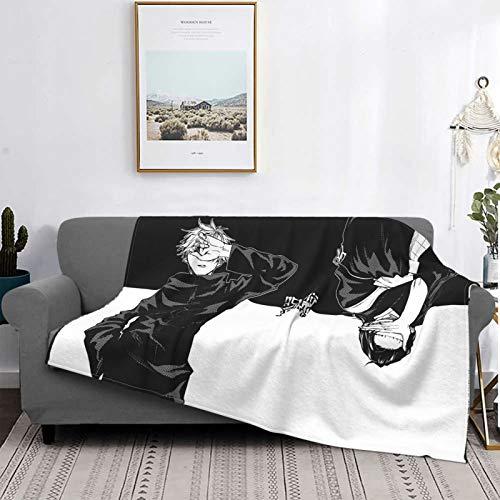 Gua Tan Jujutsu K-Aisen Mantas, manta de felpa ultra suave, manta de forro polar para sofá cama y sala de estar de 152 x 122 cm
