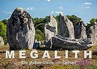 Megalith. Die grossen Steine von Carnac (Wandkalender 2022 DIN A2 quer): Eine Tour zu den Megalithen in Carnac und Umgebung (Monatskalender, 14 Seiten )