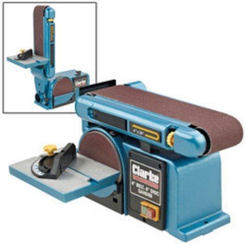 Clarke CS4-6D Woodwork Carpenters 4' x 6' Belt DISC and Sander 6500412
