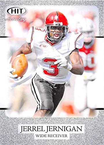 2011 SAGE Hit Silver Football #55 Jerrel Jernigan Troy Trojans Prospect Trading Card