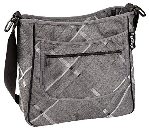Peg Perego Borsa Diaper Bag, Portraits Grey