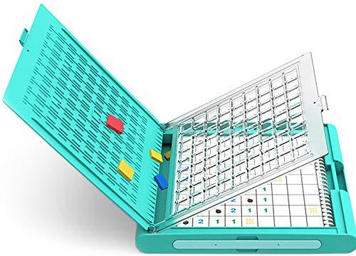 RSTJ-Sjap Pensamiento Lógico para Niños Y Capacitación De Razonamiento, Divertido Juego De Juntas De Sudoku Minesweeping, Juguetes Educativos para Niños