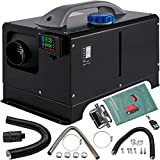 VEVOR Diesel Air Heater 8KW, All in One 12V Truck Heater, Parking Heater with Black LCD, Remote Control, Fast Heating Diesel Heater for RV Truck, Boat, Bus, Car Trailer, Motorhomes