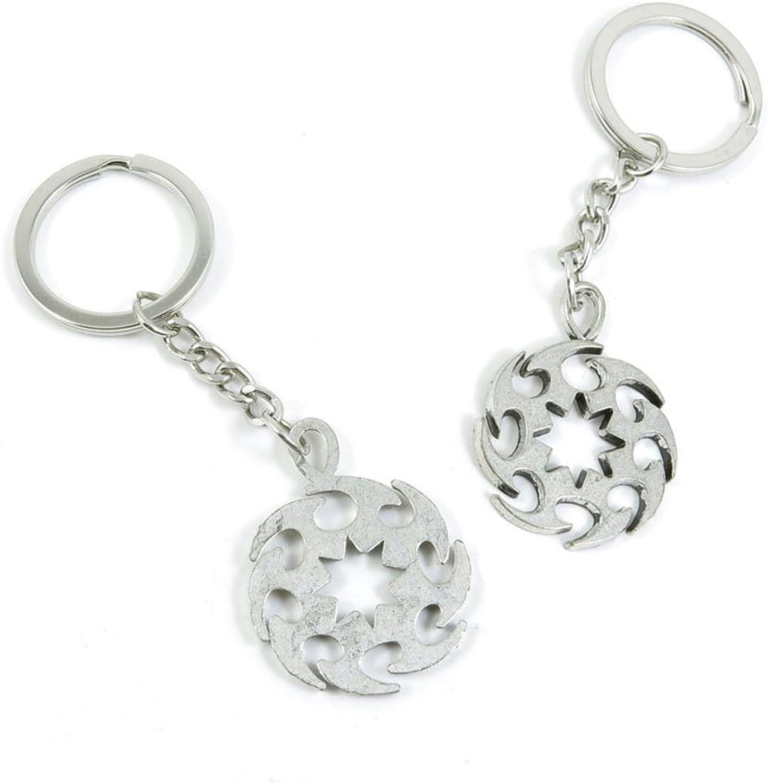 110 Pieces Fashion Jewelry Keyring Keychain Door Car Key Tag Ring Chain Supplier Supply Wholesale Bulk Lots U2XP7 Gear Wheel