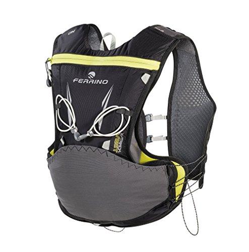Ferrino X-Track Vest, Zaino da Running Unisex, Nero, 5 Litri