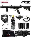 Maddog Tippmann Stormer Tactical Corporal Paintball Gun Marker Starter Package - Black