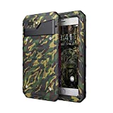 Beeasy Hülle Kompatibel mit iPhone 7 Plus / 8 Plus, Outdoor Wasserdicht Stoßfest Handy Case Militärstandard Schutzhülle mit Bildschirmschutz Robust Metall Schutz vor Stürzen Stößen Handyhülle, Camouflage