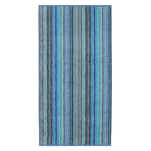 Cawö Home Handtücher Luxury Home Multistripe 601 blau - 14 Handtuch 50x100 cm