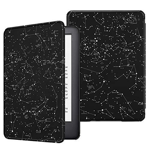 Fintie Hülle kompatibel für Kindle (10. Generation 2019 Modell) - Die dünnste und leichteste Schutzhülle Tasche mit Auto Sleep/Wake Funktion, Sternbild