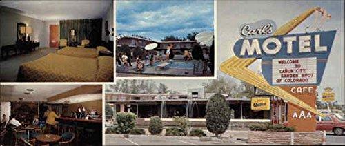 Carl's Motel, Restaurant and Cocktail Lounge Canon City, Colorado CO Original Vintage Postcard