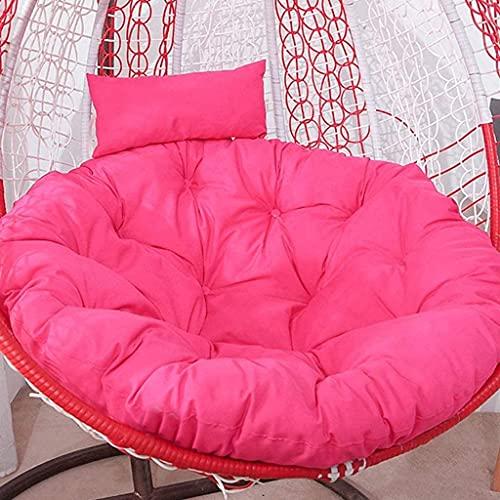 WECDS, cuscino per amaca, senza sedile, cuscino oscillante, cuscino a nido di uccelli addensato con cuscino E 105 x 105 cm (41 x 41 pollici) (colore C)