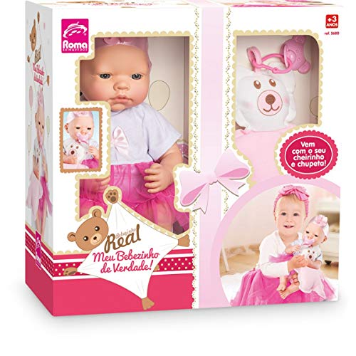 Boneca Bebezinho Real Roma Jensen Branca