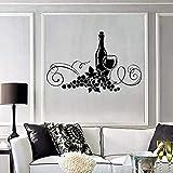 Grapevine pegatinas de pared restaurante cocina elegante decoración de...