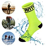 WATERFLY Ankle Length Waterproof Sock Ultralite River Trekking Tracing Breathable Professional Socks Submerge for Sports Outdoors Hiking Travel
