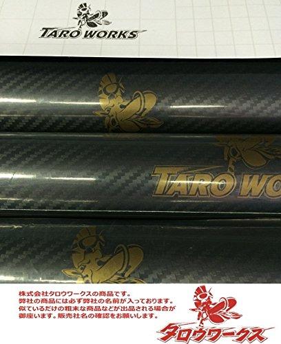 『高品質ハイグレード 『マットブラック』 カーラッピング ビニール 152cm×500cm シールステッカー 艶消し 黒 [TARO WORKS]』の3枚目の画像