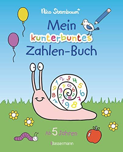 Mein kunterbuntes Zahlen-Buch. Spielerisch die Zahlen von 1 bis 20 lernen. Für Vorschulkinder ab 5 Jahren. Durchgehend farbig: Vom Bestsellerautor (Schüttel den Apfelbaum)