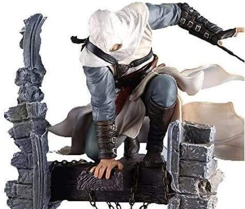 Hclshops Anime-Statue Modell Mbd The New Assassin's Creed Figur – Altair: The Legendary Assassin Altair Bell Tower Original Figma Action-Figur (Größe: 27,9 cm)