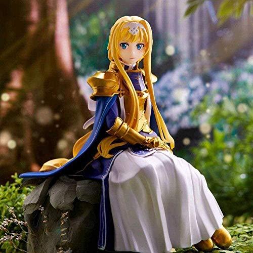 DHTOMC Tronzo Original-Furyu Sword Art Online Alicization Alice Schuberg Nudeln Stopper Figur Anime SAO Alice PVC Action Figure Spielzeug Xping
