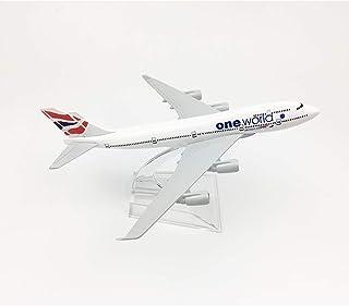16cmブリティッシュエアウェイズ航空機モデルボーイング747ダイキャスト航空モデルB747イングランド世界の航空機モデル1:400
