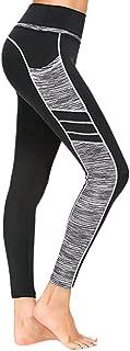 High Waisted Leggings with Pockets - Workout Leggings for Women Stretch Power Flex Yoga Pants - Full Length