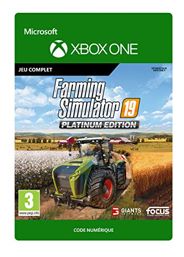 Farming Simulator 19: Platinum Edition | Xbox One - Code jeu à télécharger
