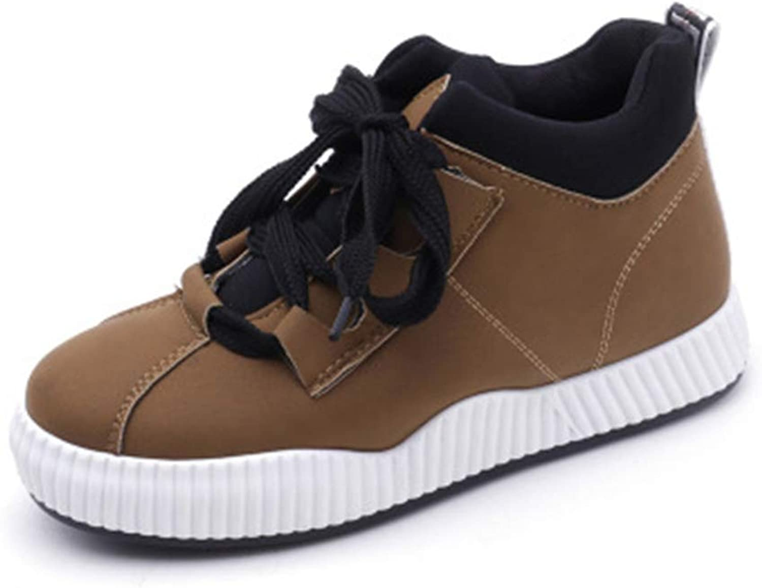 Women's Thick-Soled Platform shoes High-top Sneakers Casual shoes