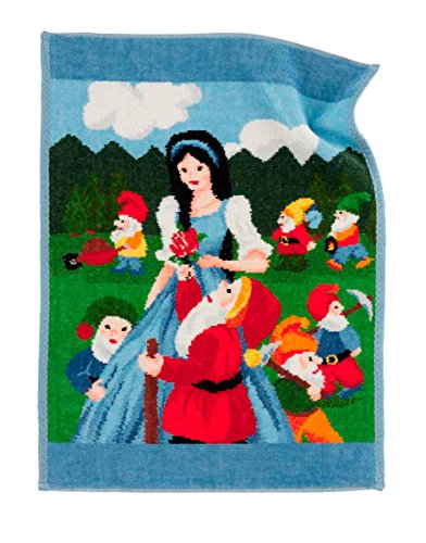 Feiler schneewittchen00020202, Kinderhandtuch, Schneewittchen, 37 x 50 cm, hellblau