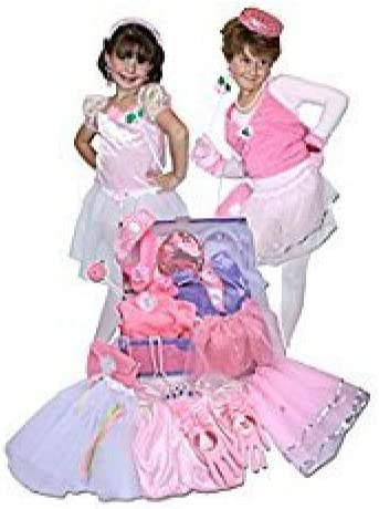 Dress Up For Girls Princess Trunk supreme Portland Mall Pieces to Shoes 26 Jewlery