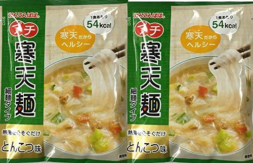 かんてんぱぱ プチ寒天麺 とんこつ味 細麺タイプ16.4g20袋