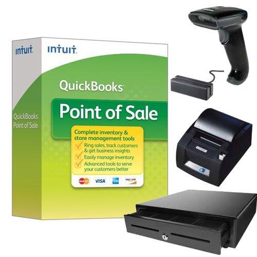 Price comparison product image QuickBooks Desktop Point of Sale 18.0 Basic New User w / Hardware