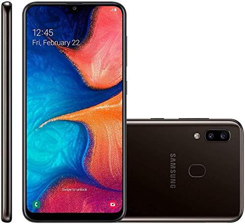 Samsung Galaxy A20 6.4' 32GB GSM Unlocked 4G LTE Android Smartphone (Black) (Renewed)