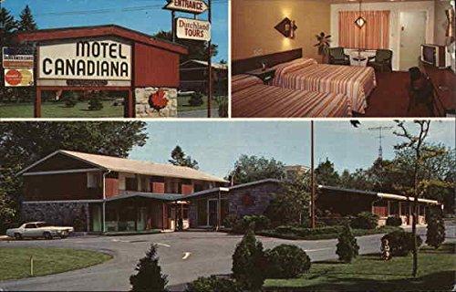 Motel Canadiana Lancaster, Pennsylvania Original Vintage Postcard