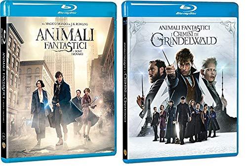 ANIMALI FANTASTICI 1 & 2 - Dove Trovarli + I Crimini di Grindelwald (2 Film in Blu-ray) Edizione Italiana