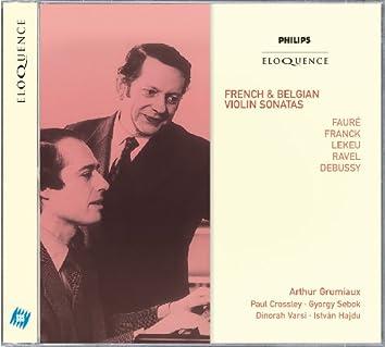 French & Belgian Violin Sonatas