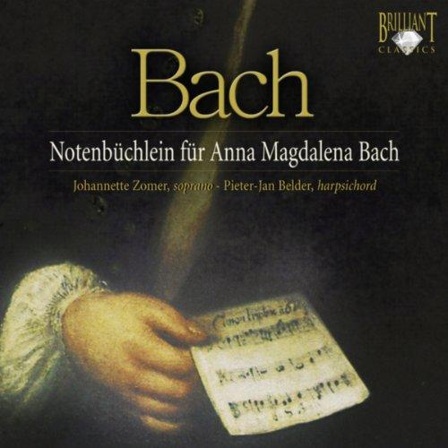 Notebook for Anna Magdalena Bach: Bist du bei mir, BWV 508