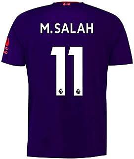 Liverpool Away Purple Soccer Jerseys 2018/2019 Season #11 M Salah Mens Jerseys
