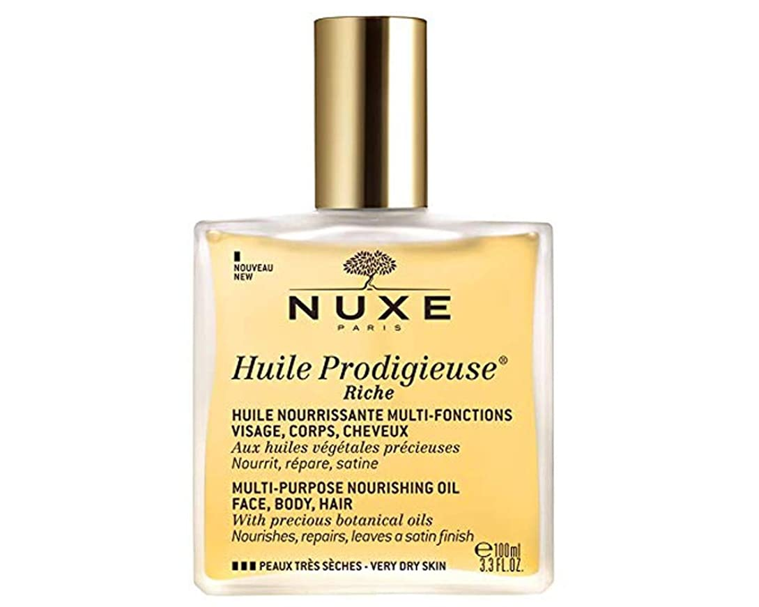 誤解する中性テーブルを設定するニュクス NUXE プロディジュー オイル 100ml 1本で髪?体?顔に使えるマルチ美容オイル スキンケア (香水/コスメ)