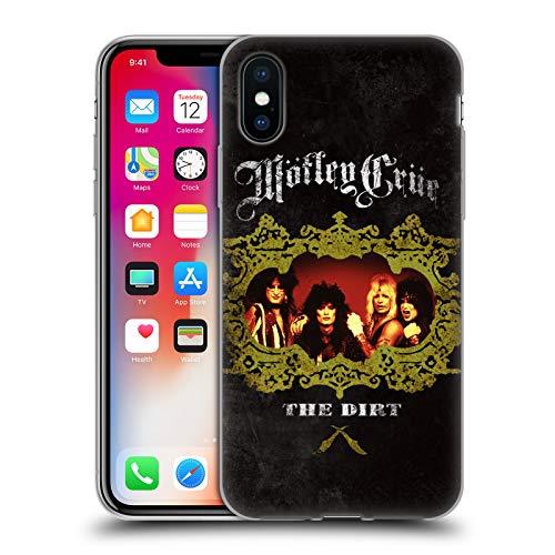 Head Case Designs Oficial Motley Crue The Dirt Frame Key Art Carcasa de Gel de Silicona Compatible con Apple iPhone X/iPhone XS