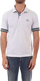 SUN 68 Luxury Fashion Mens A3011001 White Polo Shirt |