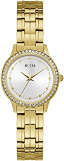 Guess chelsea Womens Analog Quartz Watch with Stainless Steel Gold Plated bracelet W1209L2