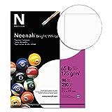 Neenah Premium cartoncino, White, 250 Sheet (4-Pack)