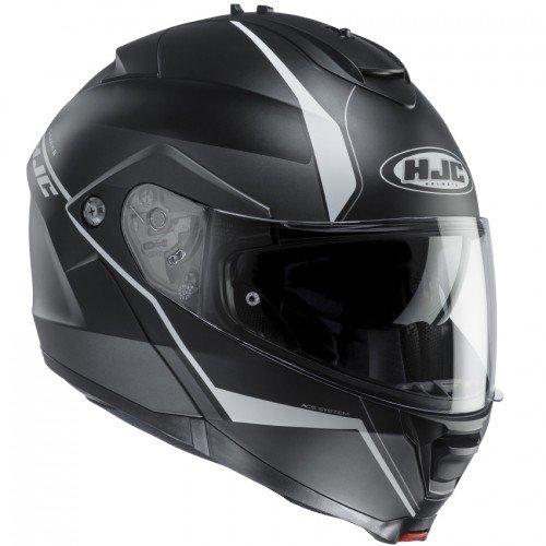 HJC Motorradhelm IS Max II Mine MC5SF, Noir/Transparent, Größe L