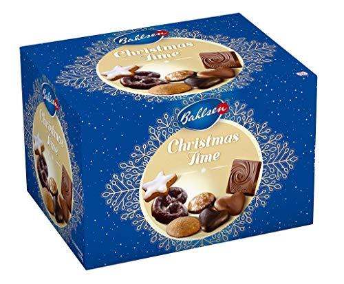 Bahlsen Christmas Time – Gebäckmischung zu Weihnachten – mit verschiedenen Lebkuchen, aromatischer Vollmilchschokolade und leckeren Zimtsternen, 1er Pack (1 x 1.25 kg)