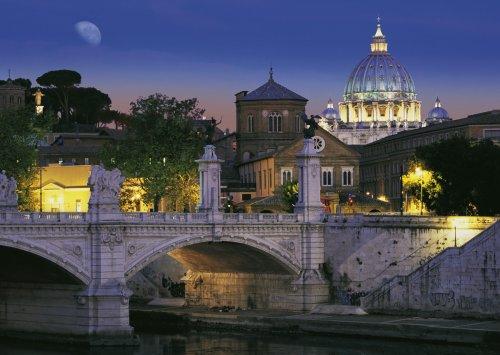 Schmidt Spiele 58111  - Roma by Night, 1000 Rompecabezas Pieza